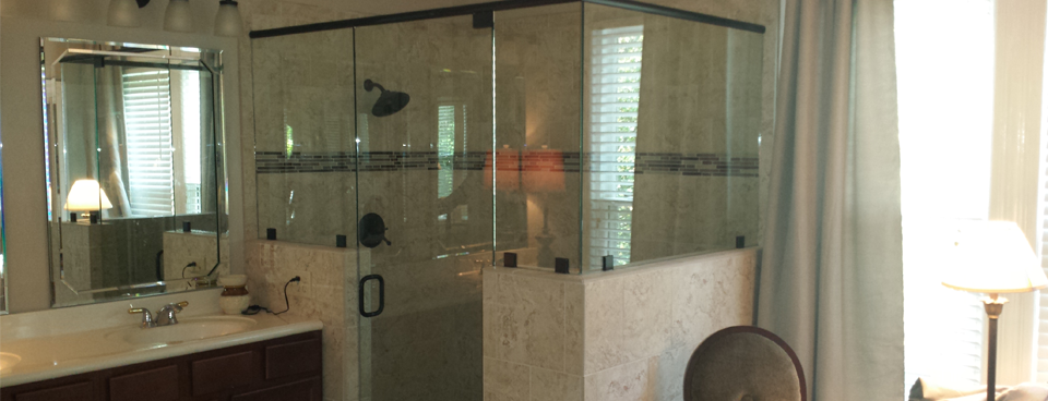 Shower Enclosures | Sevier County Glass and Mirror, LLC